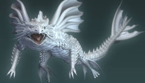 DeepSea white dragon - another