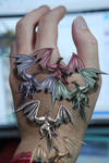 Tiny Metallic Dragons