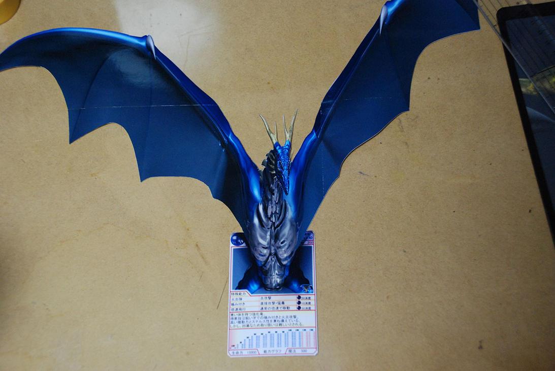 Experimental : Dragon card by AkaiGaru