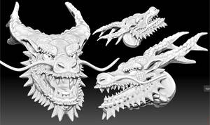 Oriental Dragon Head(18.02.06)