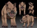 Boar-like creature(proto)