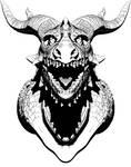 Dragon Head(BW)