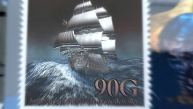 Postage stamps with moving pictures(Experimental)
