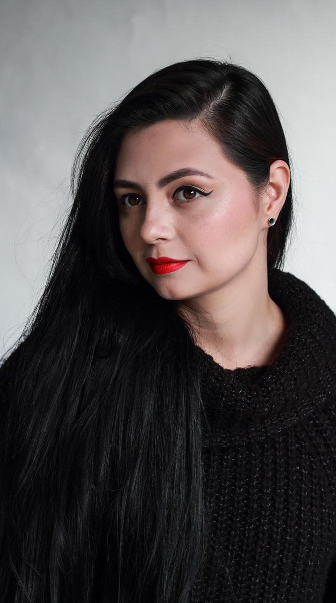 My make up by xBlackVelvetx