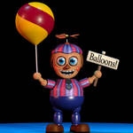 Balloon Boy extras - C4D
