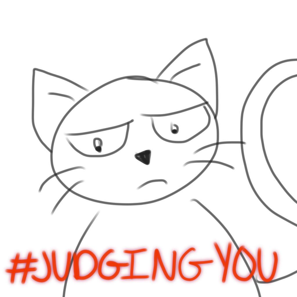 #JudgingYou by HyperWaddleDee