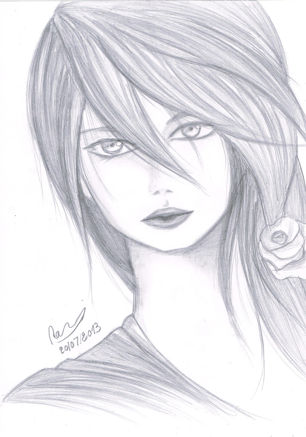 Pencil drawings manga pencil drawings