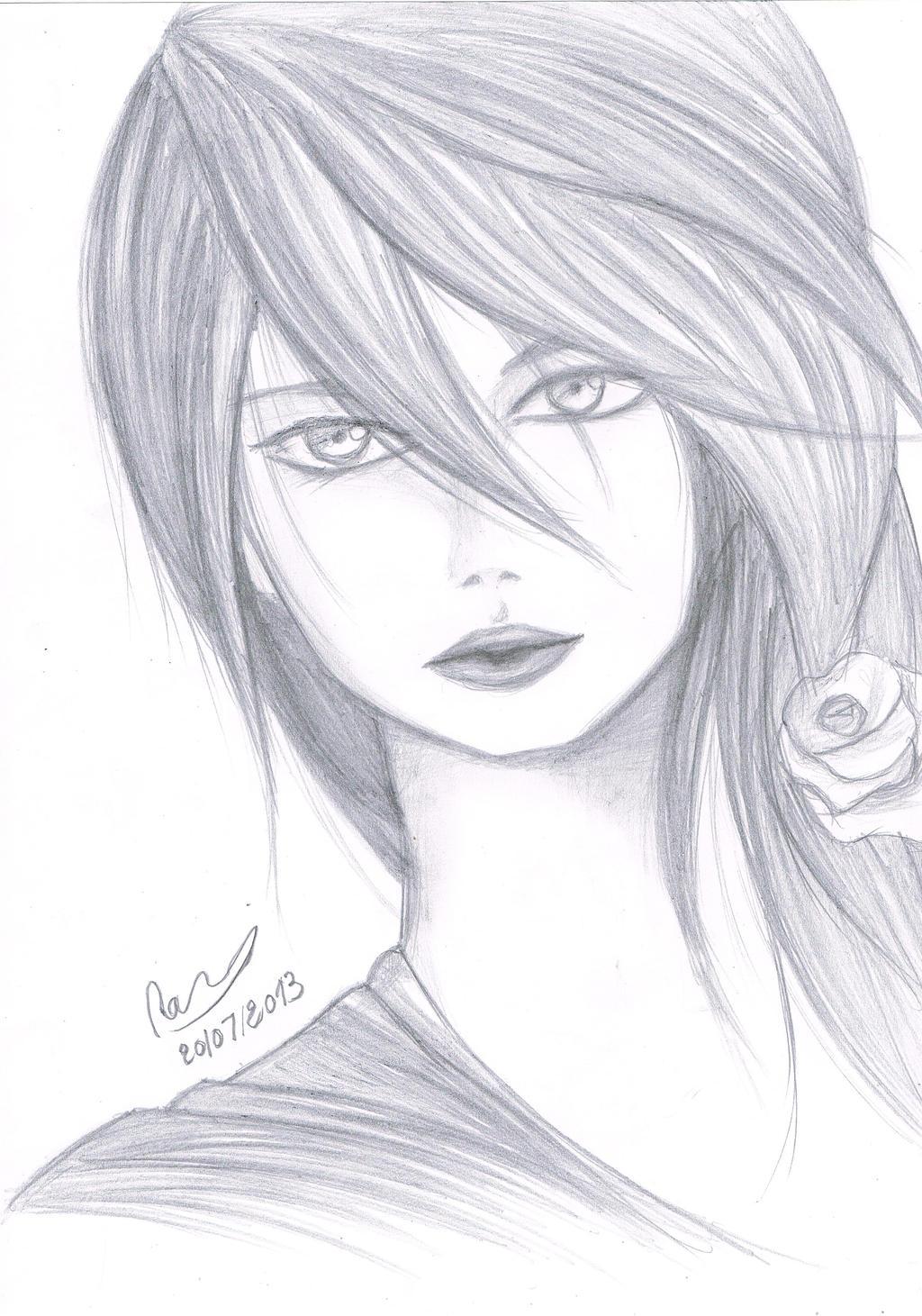 Pencil Drawings: Manga Pencil Drawings