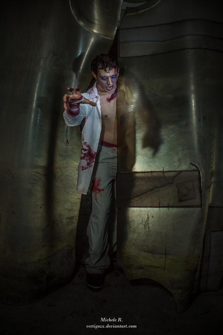 Resident Evil 3 - Zombie Attack by VertigoZX