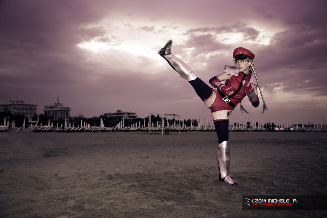 Cammy Street Fighter 4 - M. Bison Outfit by VertigoZX