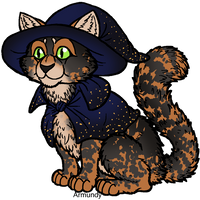 Witch Kitty for Peppermint Galaxies