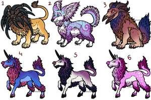 Old Adopts (5/6 open)