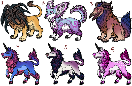 Old Adopts (6/6 open)