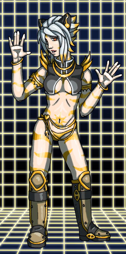 Gaia: Cyber Liri by FreekKittin