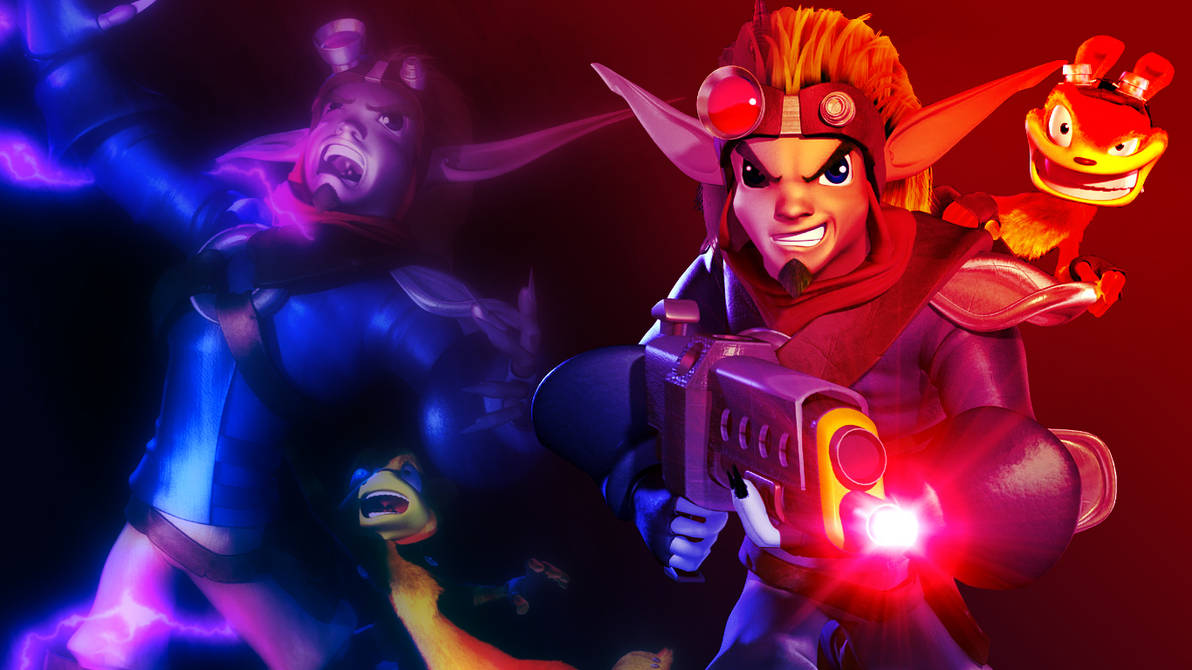 Jak Dark Jak And Daxter Wallpaper 1366x768 By Jakieinred On