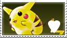 Pikachu Lover Stamp by lauratheyoshi