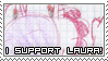 Support me stamp by lauratheyoshi