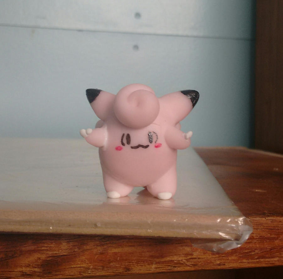 Clefairy Figure by LilyRulz