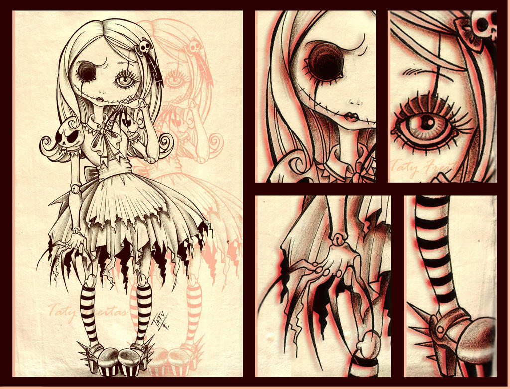 DOLL PARTS by Kazuko-Taty