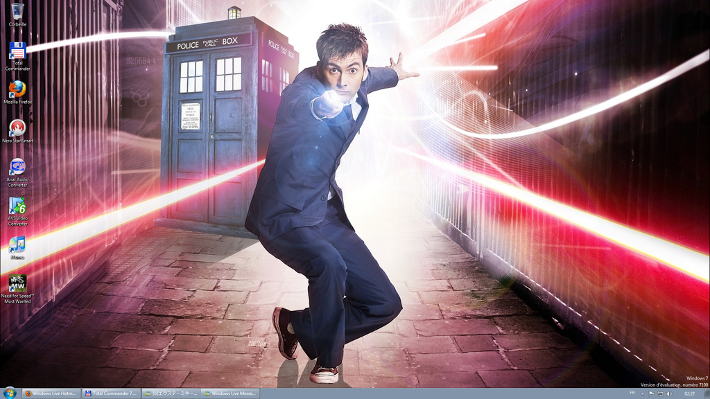 fond d'ecran anime doctor who