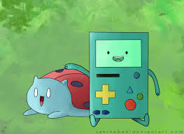 Catbug and BMO by MrPotatoAssassin