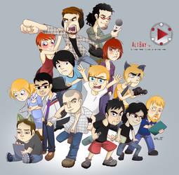 AltBay TV Crew by KamlotVIII