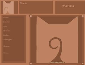 Wind clan information sheet