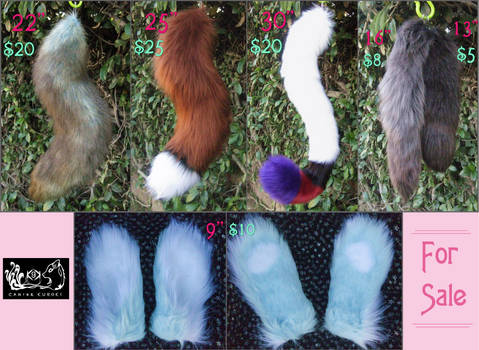 CLEARANCE Tails and ear set