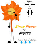 Straw Flower for BFDIT8 by Neko-Lockie