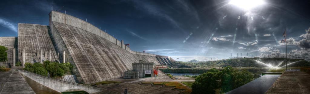 Guri Dam HDR Pano