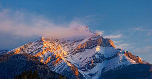Cascade Mountain Pano by Jase036