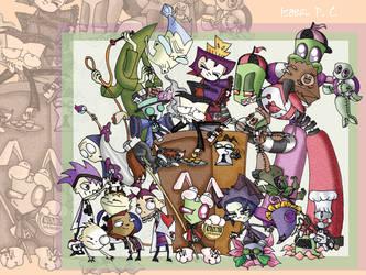 Dib In Wonderland by DarkLuna