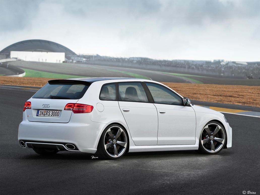 Audi Rs3 By Quattr0 On Deviantart
