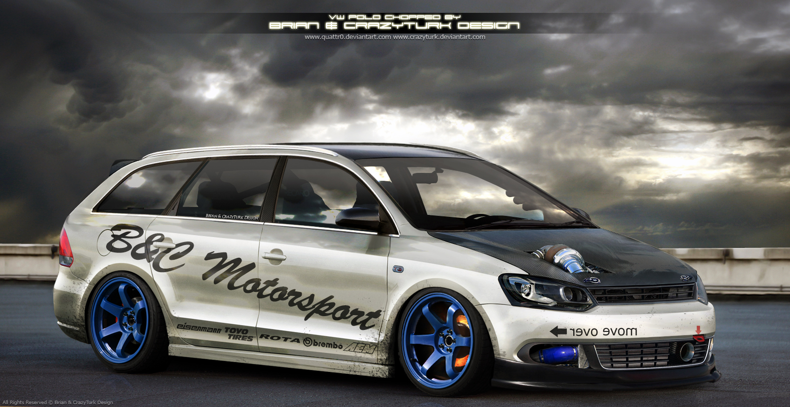 VW Polo Teamchop by Quattr0