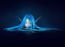 Timid Little Water Spirit by BeaGifted
