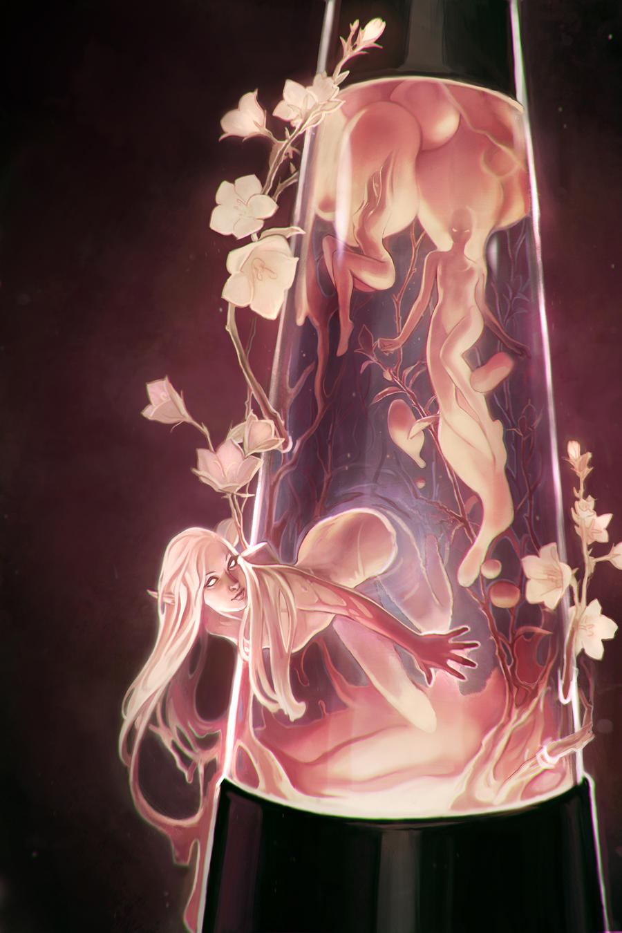 Lava lamp by beagifted on deviantart for Cool fantasy drawings