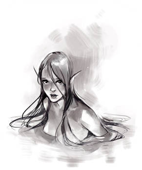 Day 9- Water Sprite - Revisited