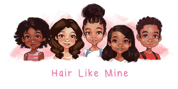 Hair Like Mine- SpeedPaints