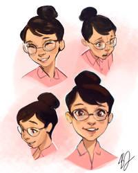 18/365- FacialExpressions