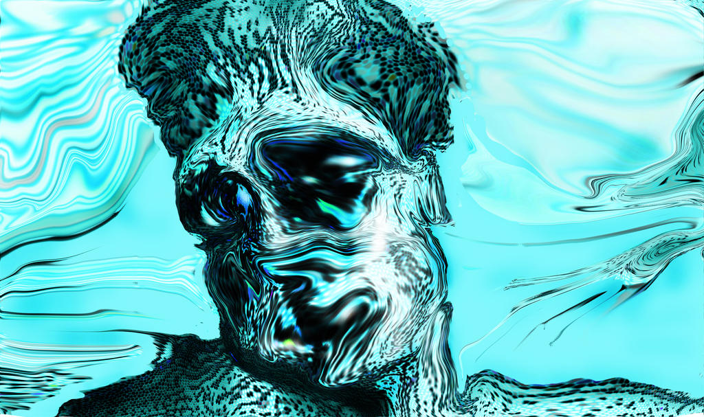 fourth stretch of pixels Brad Pitt underwater by lancgodwin