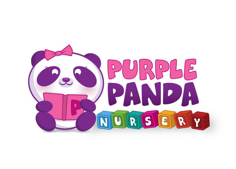 Purple Panda GIRL by JPeiro