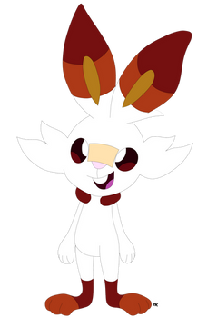 Scout The Scorbunny (Redesign)