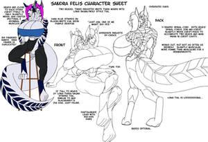 Sandra Felis Character Sheet