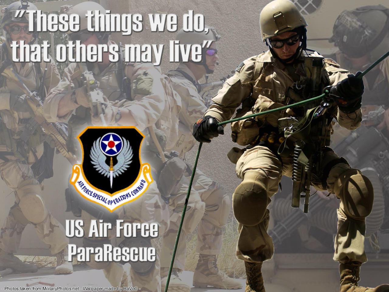 USAF ParaRescue by HaVoCMaN on DeviantArt Usaf Pararescue Wallpaper