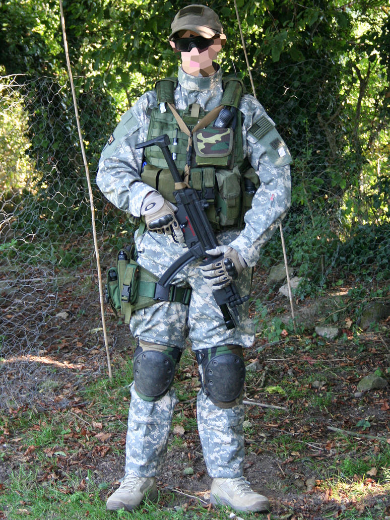 Acu And Od Green Airsoft