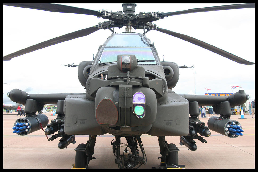RIAT 2007 - AH64 Apache by HaVoCMaN