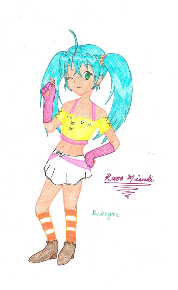 BBB: Runo Misaki by spiderboy1