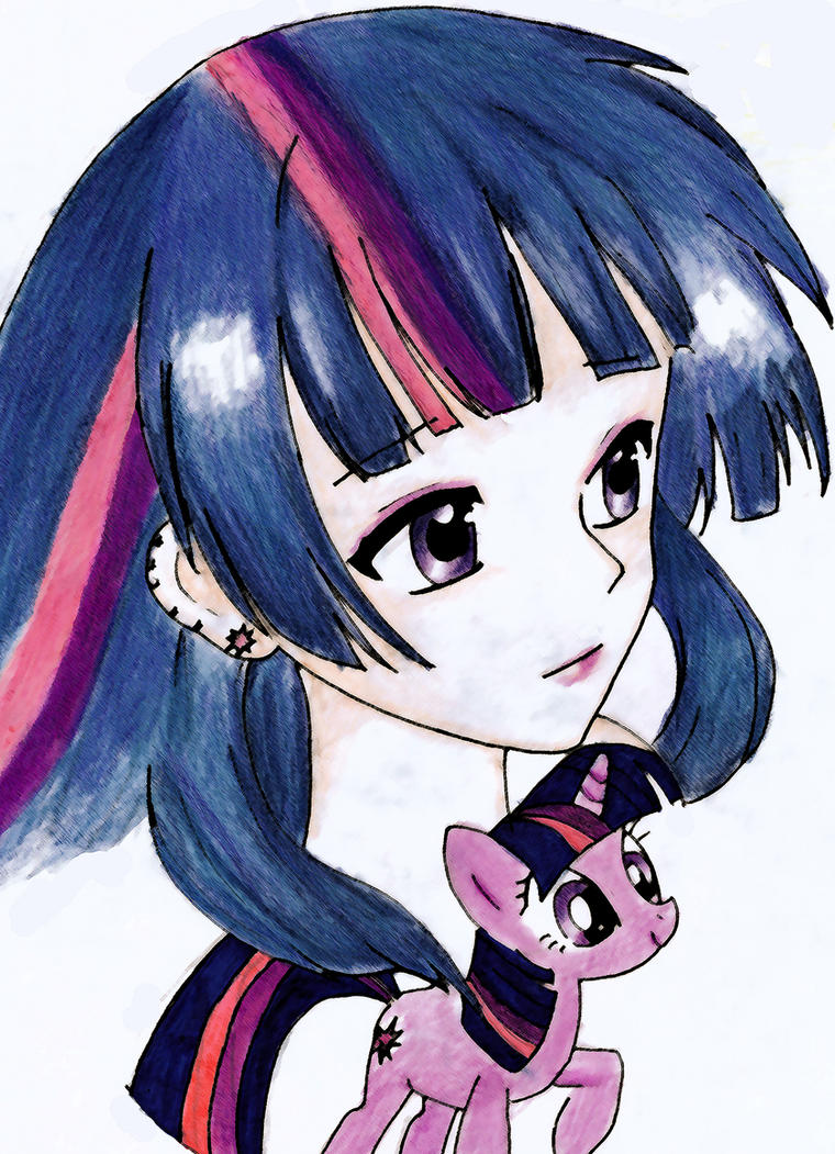 Twilight Sparkle by UnstableApocalypse
