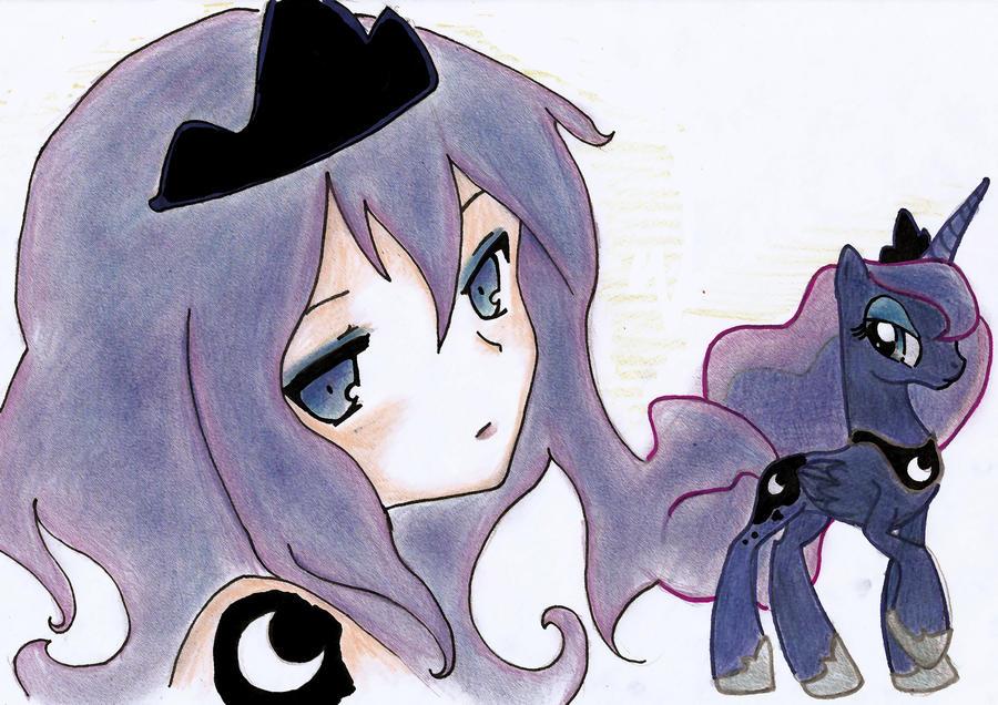 Princess Luna by UnstableApocalypse