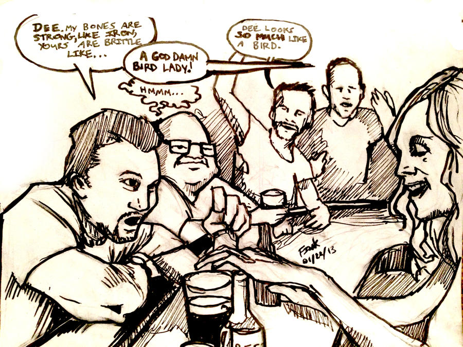 The Gang Sketch by finkgraphics